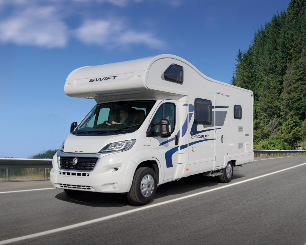 Motorhome alarms trackers dash and reversing cameras
